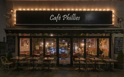 Cafe Phillies Wine Bar High Street Kensington London