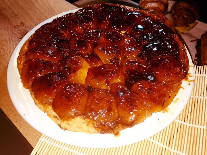 Another amazing  Rosemary Apple Tarte Tatin by Meri!