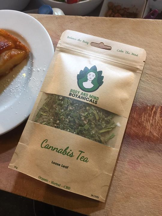 Afternoon tea is Cannabis tea today!